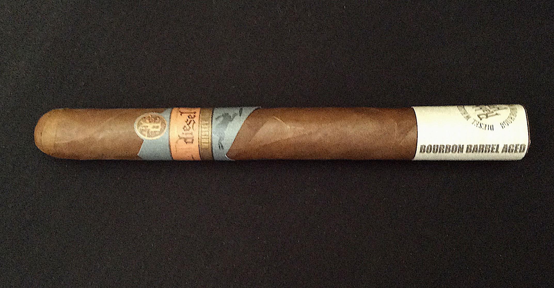 Agile Cigar Review: Diesel Whiskey Row Churchill