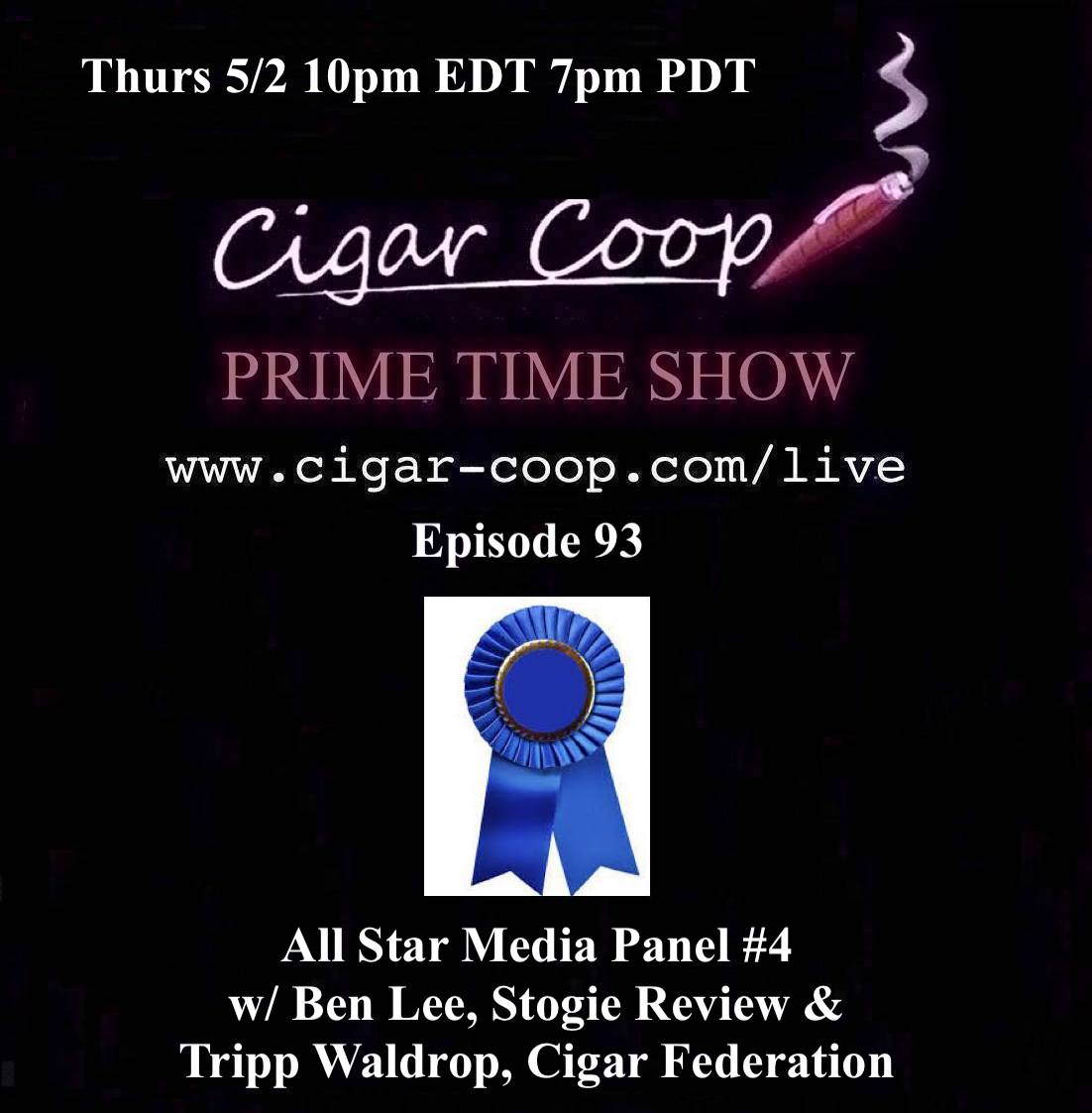 Announcement: Prime Time Episode 93 – All Star Media Panel #4