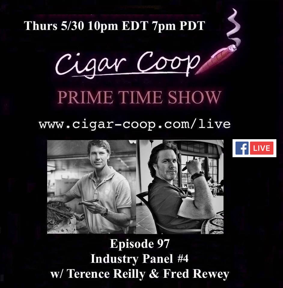 Announcement: Prime Time Episode 97 – Industry Panel #4 w/ Terence Reilly and Fred Rewey