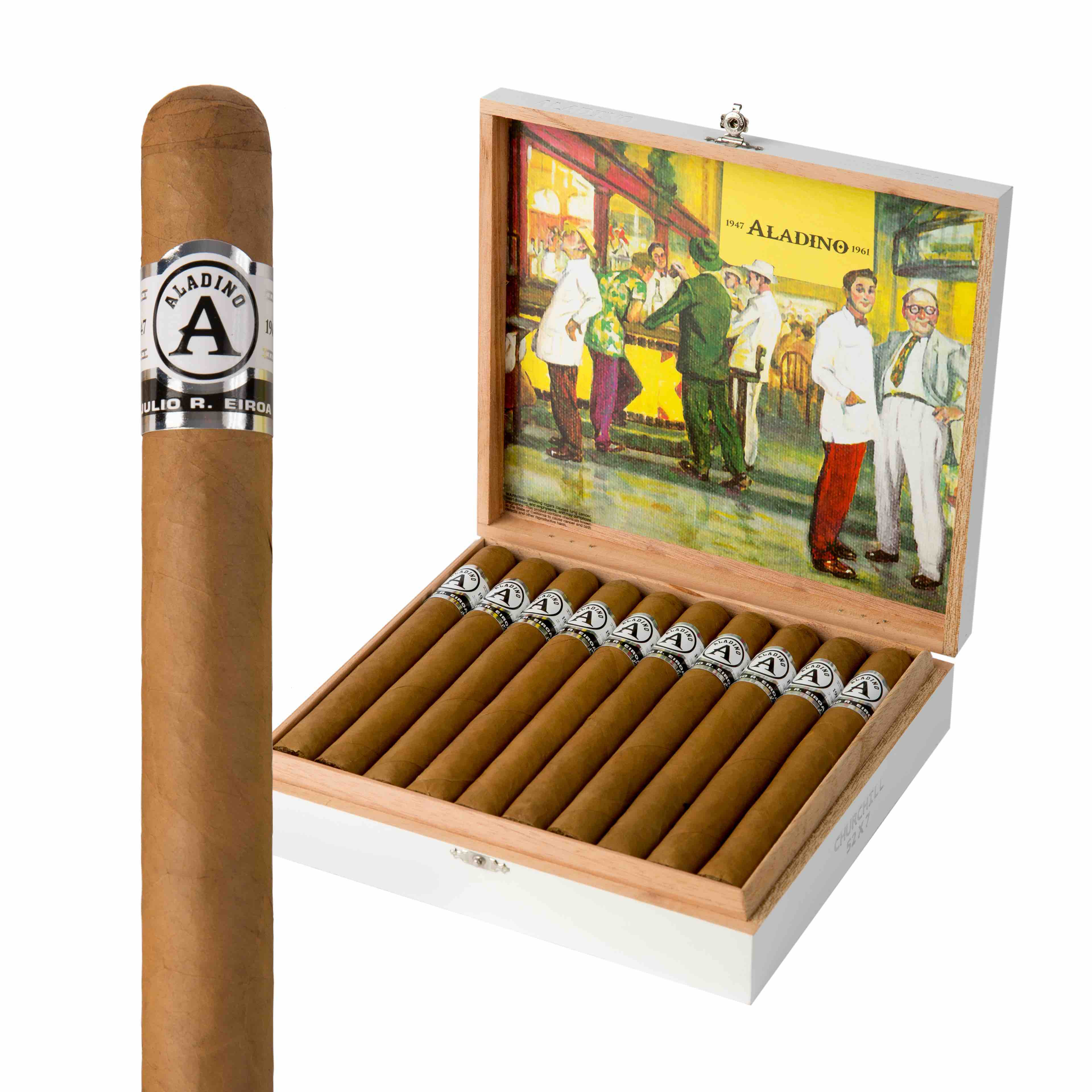 Cigar News: JRE Tobacco Company to Officially Launch Aladino Connecticut at 2019 IPCPR