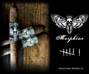 Cigar News: Black Label Trading Company Morphine Returns for 2019