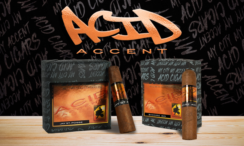 Cigar News: Drew Estate Introducing ACID Accent Collection at the 2019 IPCPR