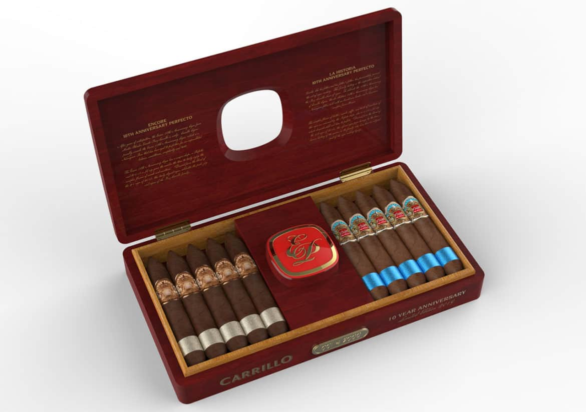 Cigar News: E.P. Carrillo 10th Anniversary Set Launching at 2019 IPCPR