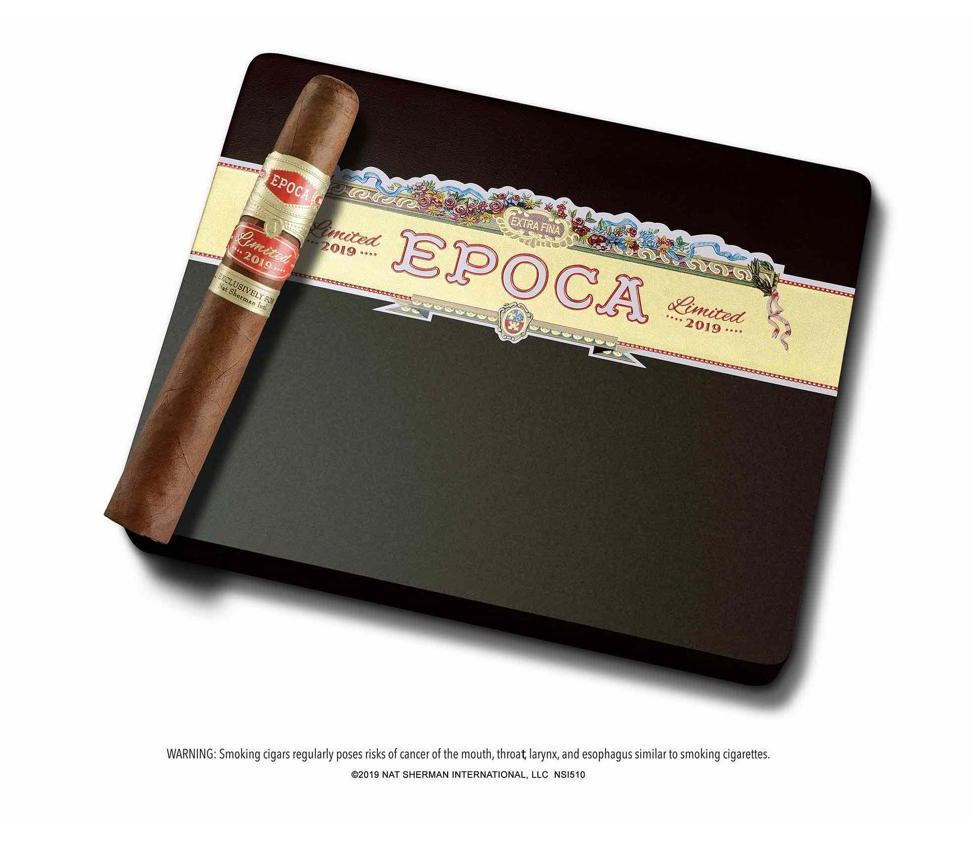 Cigar News: Nat Sherman Epoca 2019 Limited Edition to Debut at IPCPR