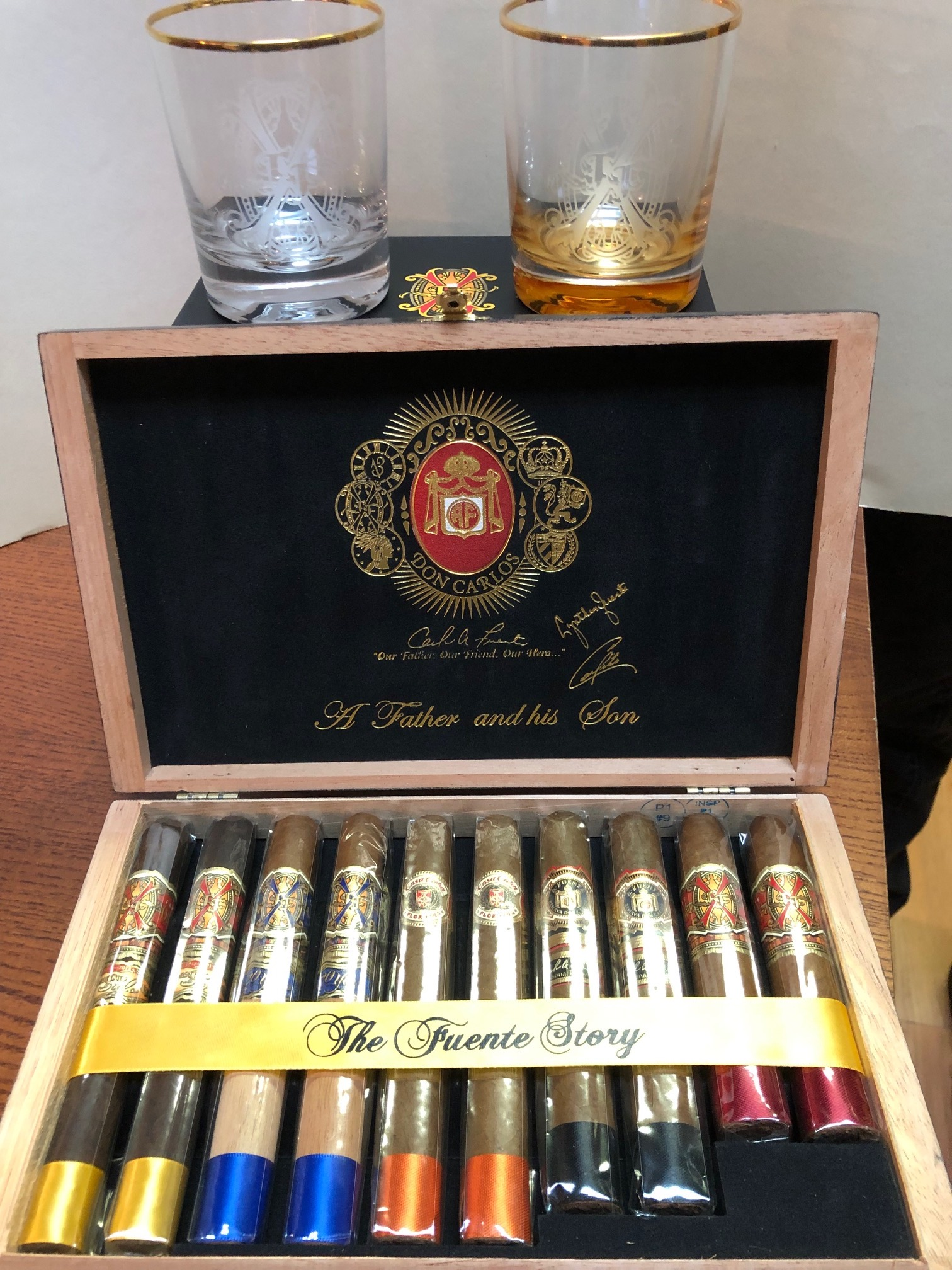 "Cigar News: Arturo Fuente Releases ""A Father and His Son"" Sampler"