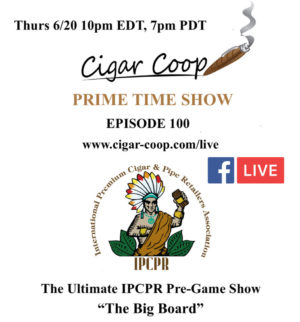 Announcement: Prime Time Episode 100 – IPCPR 2019 Pre-Game: The Big Board