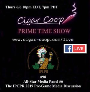 Announcement: Prime Time Episode 98: IPCPR 2019 Pre-Game – All-Star Media Panel #6