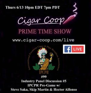 Announcement: Prime Time Episode 99- IPCPR 2019 Pre-Game: Industry Panel 5 with Saka, Martin and Alfonso