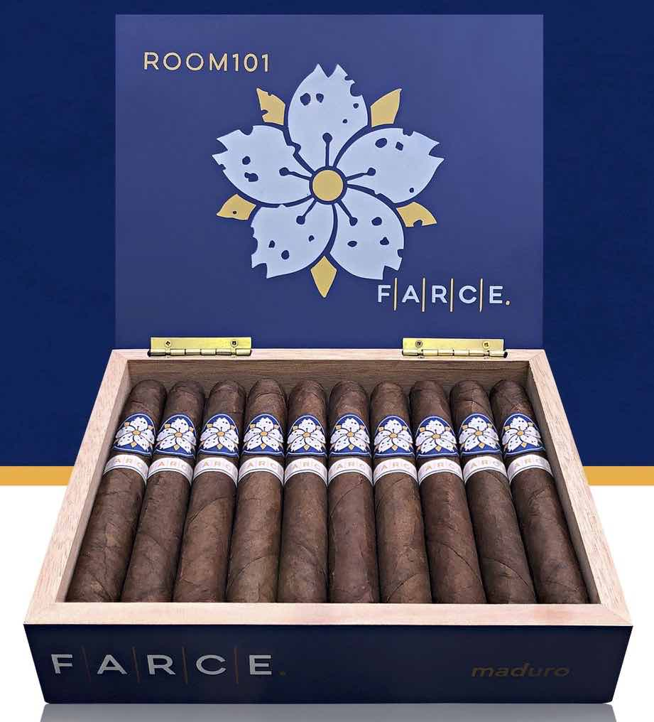 Cigar News: Room101 FARCE Maduro Shipping in June