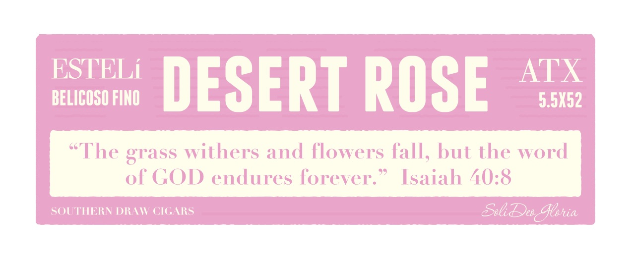 Cigar News: Southern Draw to Add Rose of Sharon Desert Rose