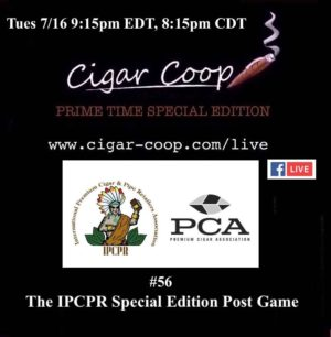 Announcement: Prime Time Special Edition #56 – Special Edition IPCPR Post Game Show