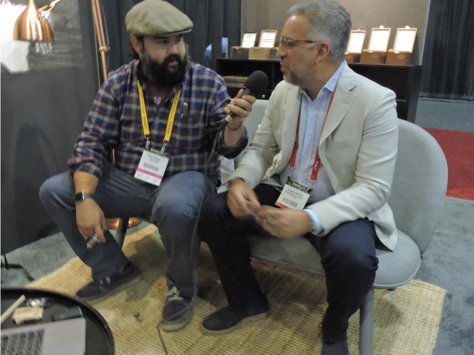 Prime Time from the IPCPR 2019 with Francisco Batista, Master Blender for Royal Agio Cigars