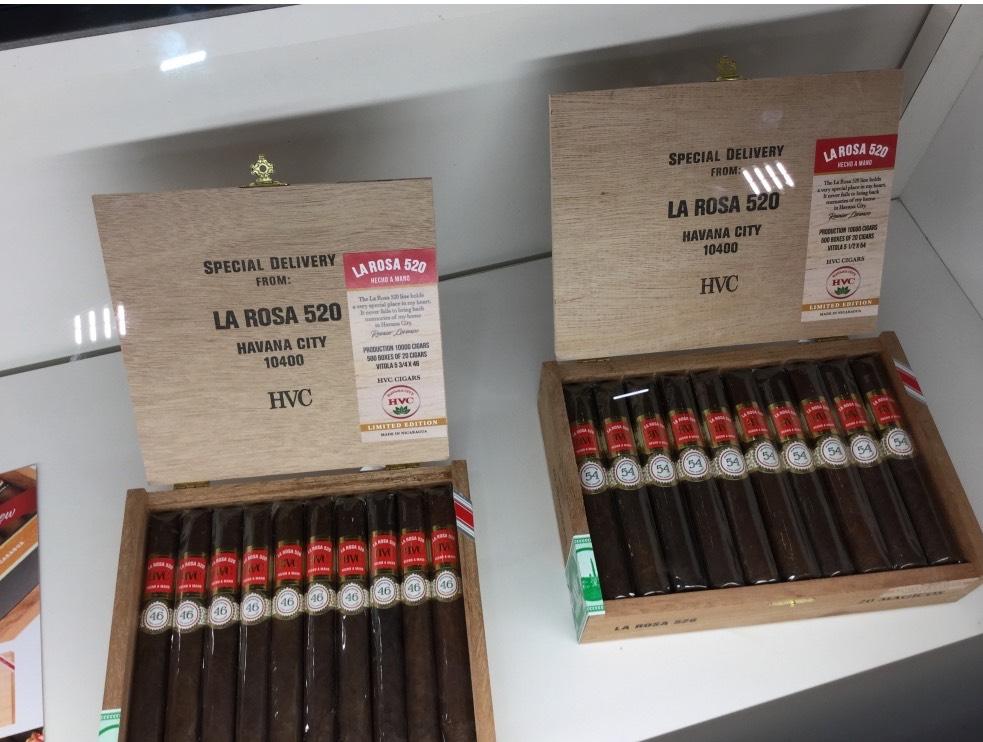 Cigar News: HVC La Rosa 520 Maduro Introduced at 2019 IPCPR