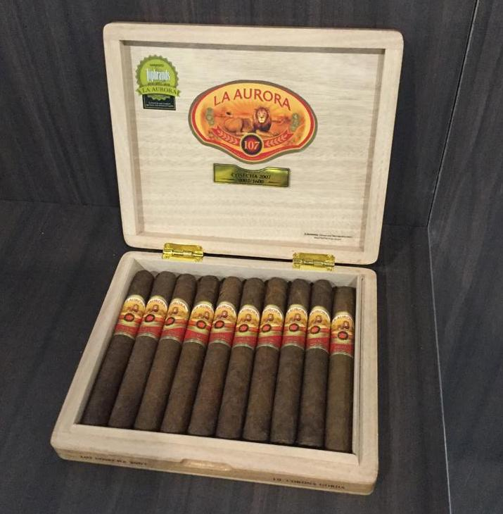 Cigar News: La Aurora 107 Cosecha 2007 Heads to Retailers