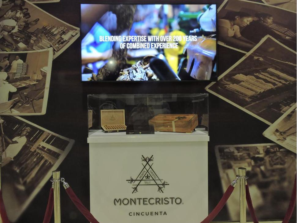 Cigar News: Montecristo Cincuenta Showcased at 2019 IPCPR
