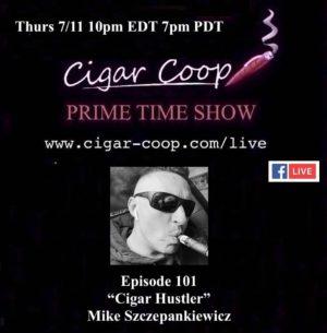 Announcement: Prime Time Episode 101 – Mike Szczepankiewicz