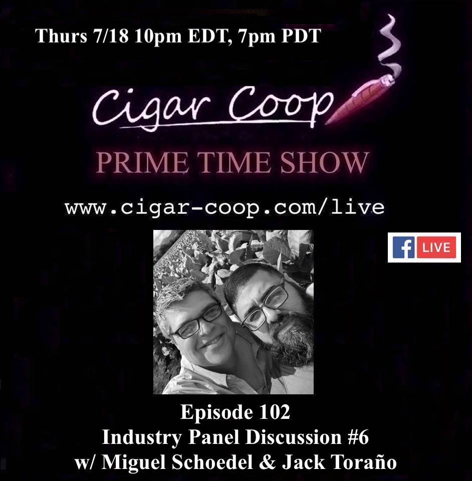 Announcement: Prime Time Episode 102 – Industry Panel #6: Miguel Schoedel and Jack Toraño