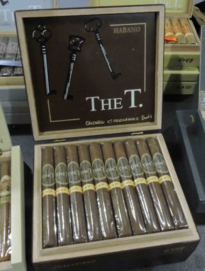 Cigar News: Booth and Caldwell Launch The T Habano at the 2019 IPCPR
