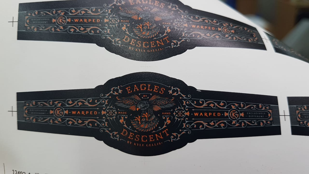 Cigar News: Warped Announces Eagles Descent