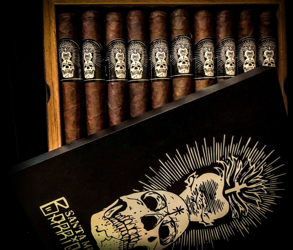 Cigar News: Black Label Trading Company Releases Santa Muerte Barrio Santo Event-Only Cigar