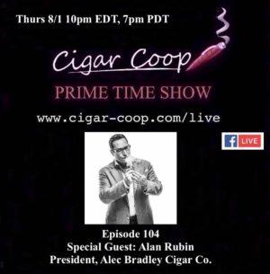Announcement: Prime Time Episode 104 – Alan Rubin, Alec Bradley