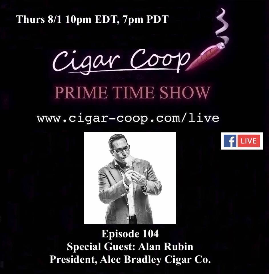 Announcement: Prime Time Episode 104 – Alan Rubin, Alec Bradley