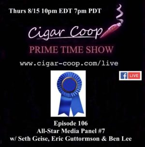 Announcement: Prime Time Episode 106 – All Star Media Panel #7