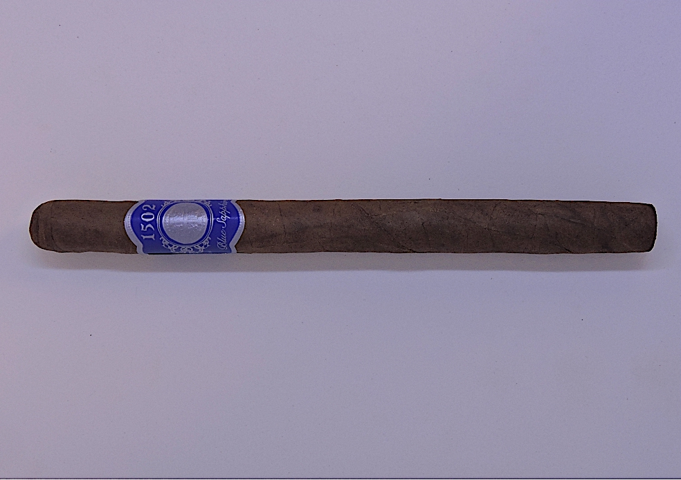 Agile Cigar Review: 1502 Blue Sapphire Lancero by Global Premium Cigars