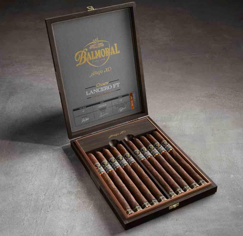 Cigar News: Balmoral Añejo XO Oscuro Lancero FT Edición Limitada Announced