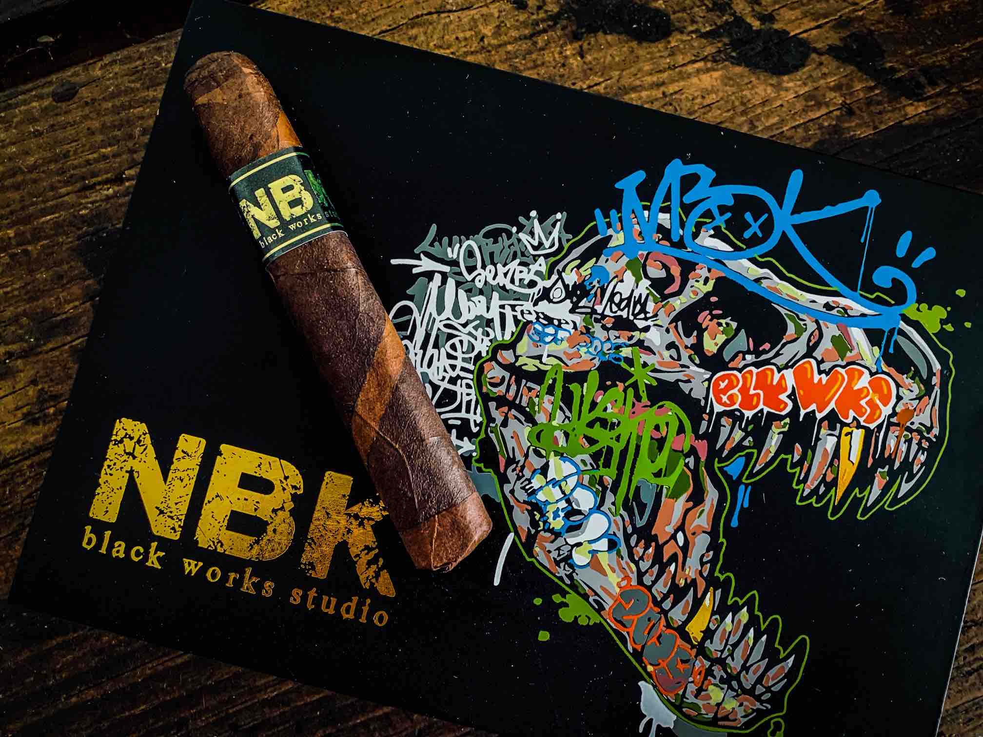 Cigar News: Black Works Studio NBK Lizard King Rolls Out This Month