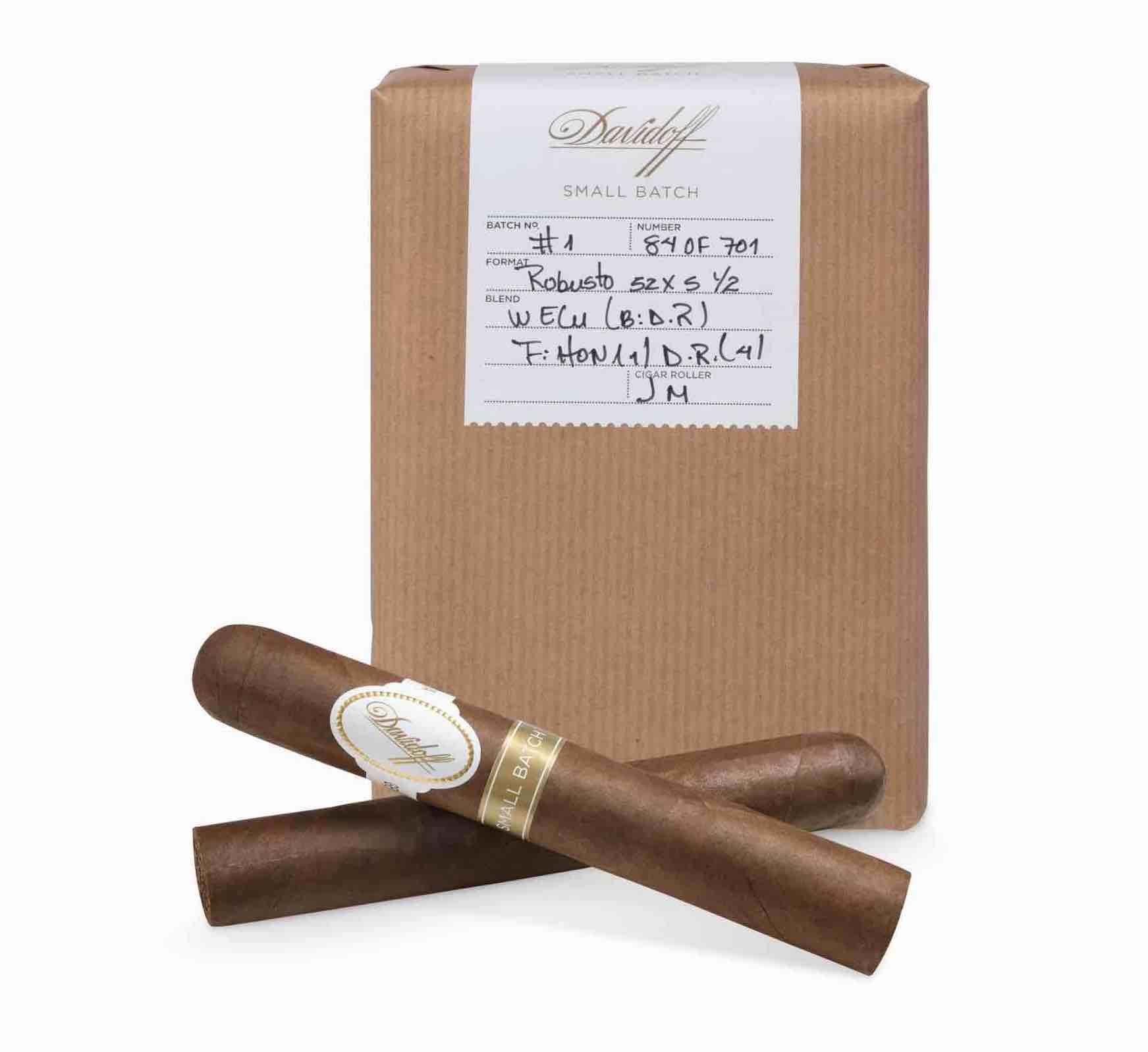 Cigar News: Davidoff Small Batch Series Announced