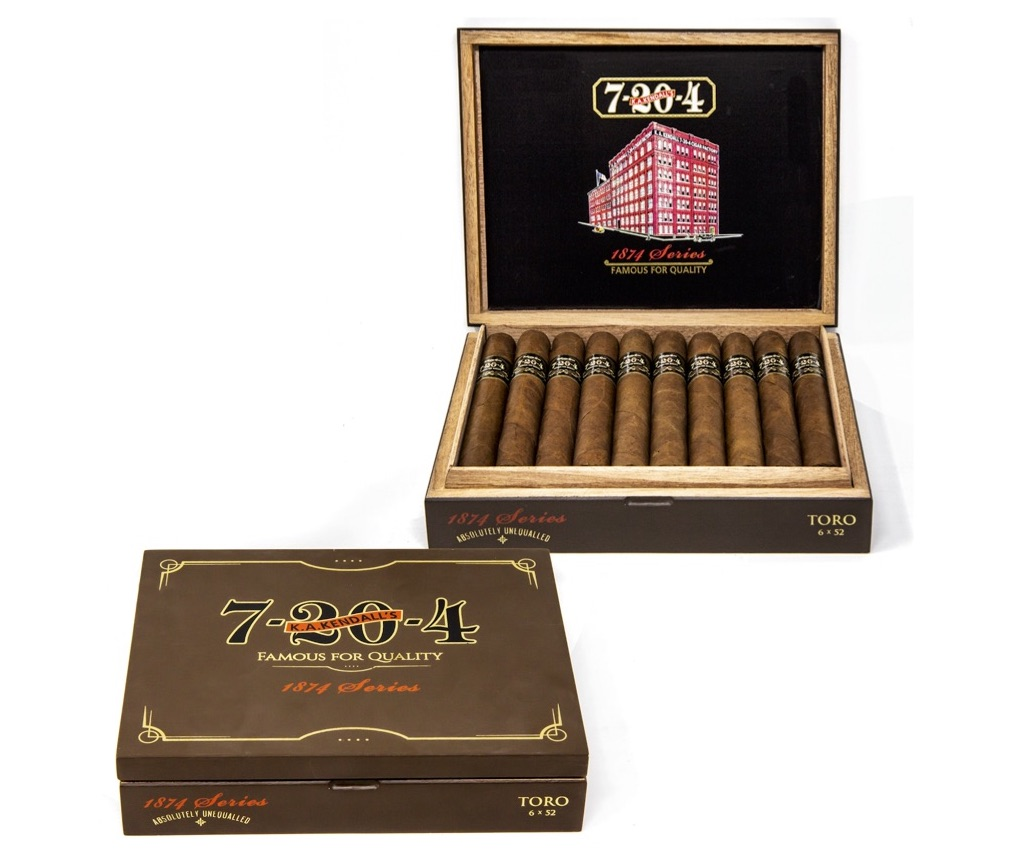 Cigar News: 7-20-4 Begins Shipping 1874 Series