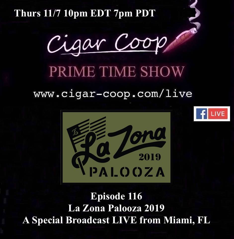 Announcement: Prime Time Episode 116 – Live from La Zona Palooza 2019