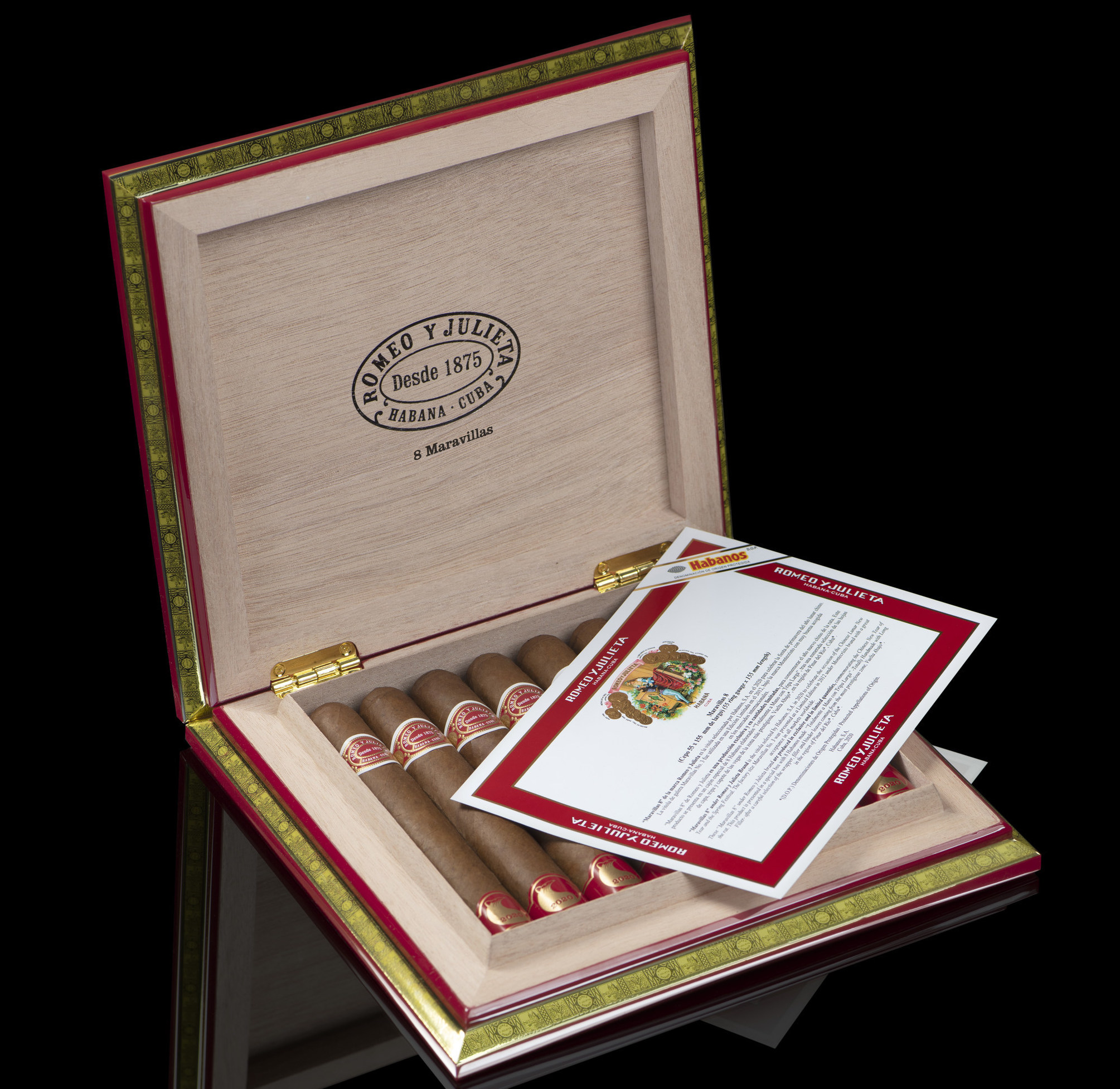 Cigar News: Habanos S.A. Launches Romeo y Julieta Maravillas 8 for Chinese New Year