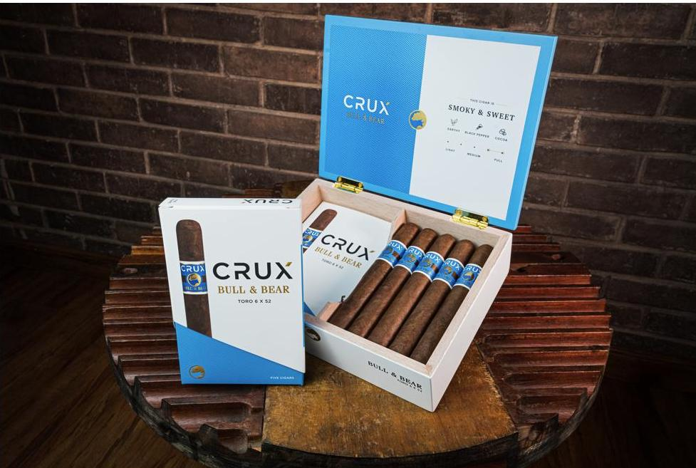 Cigar News: Crux Cigars to Ship Repackaged Bull & Bear to Retailers This Week