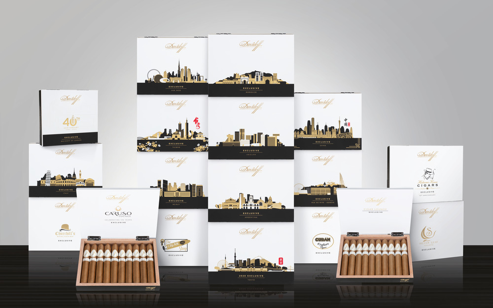 Cigar News: Davidoff Exclusive 2020 Regional Series Announced