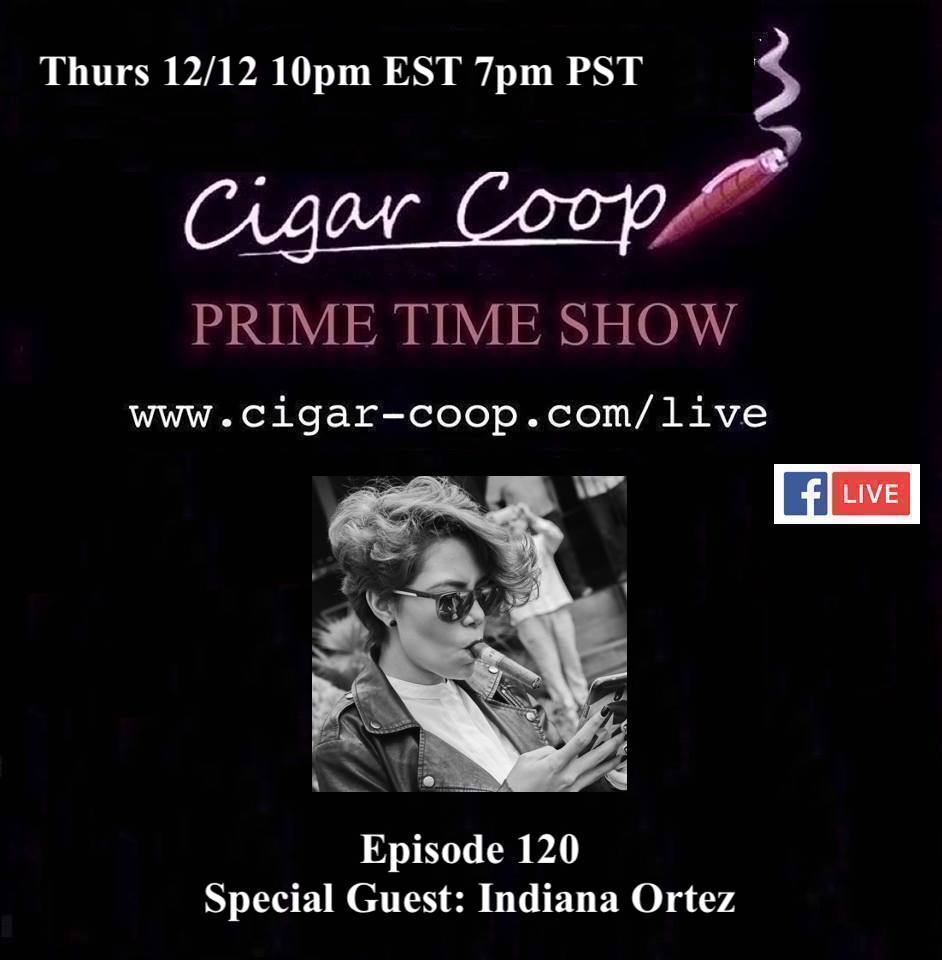 Announcement: Prime Time Episode 120 – Indiana Ortez