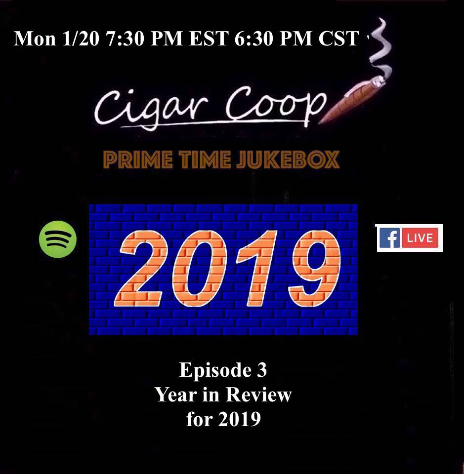 Announcement: Prime Time Jukebox Episode 3 – Year in Review for 2019