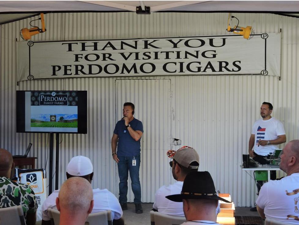 The Blog: Perdomo Tour – Day Two