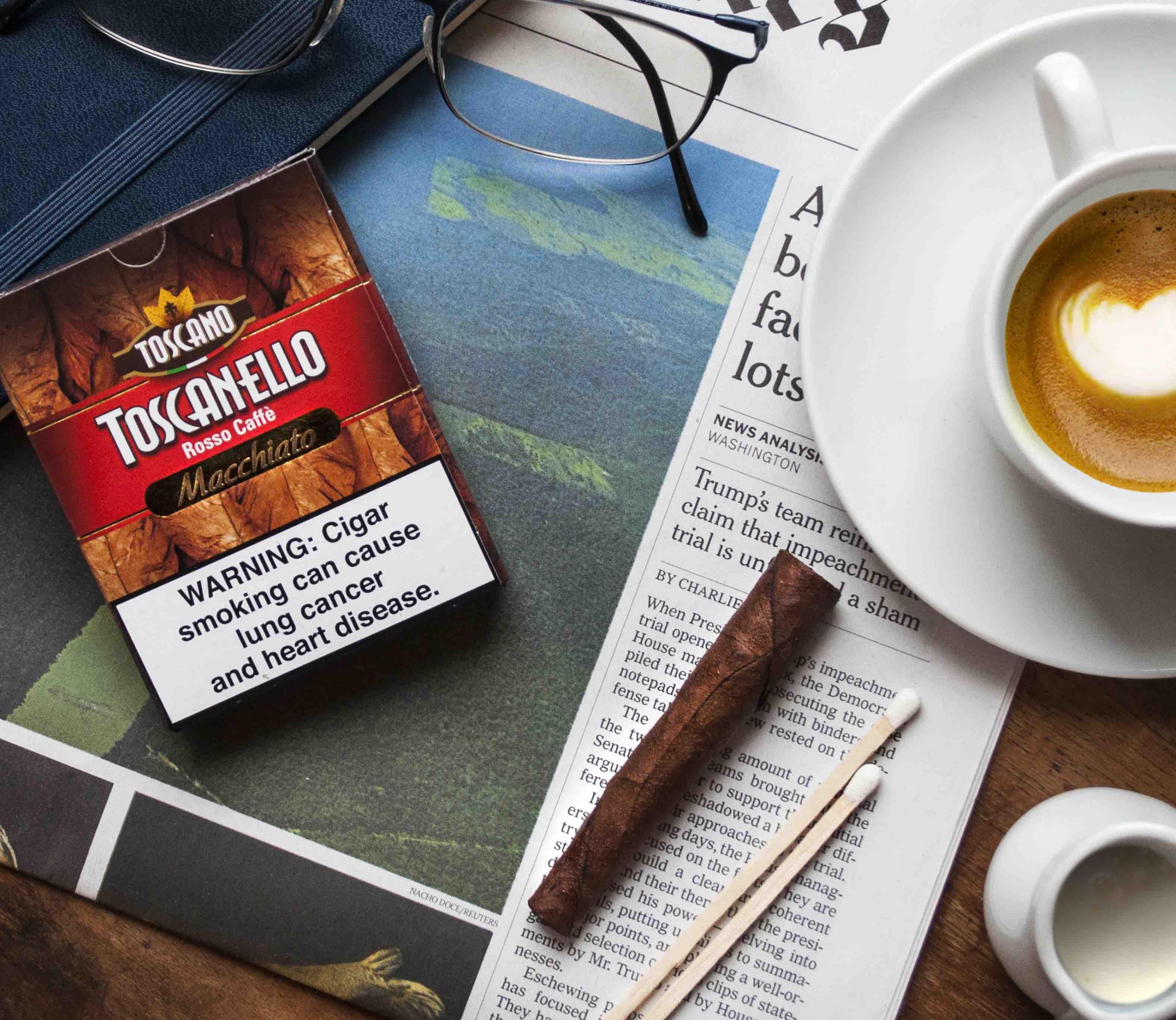 Cigar News: Toscano Launches Toscanello Rosso Caffè Macchiato for U.S. Market