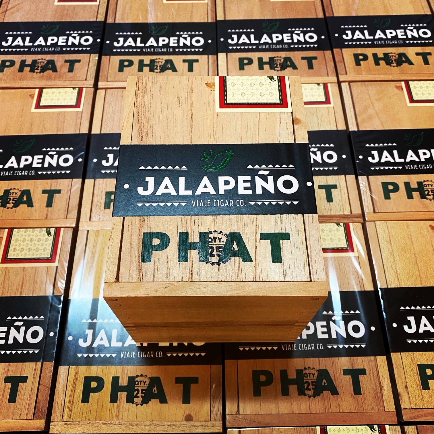 Cigar News: Viaje Phat Jalapeño Coming This Month