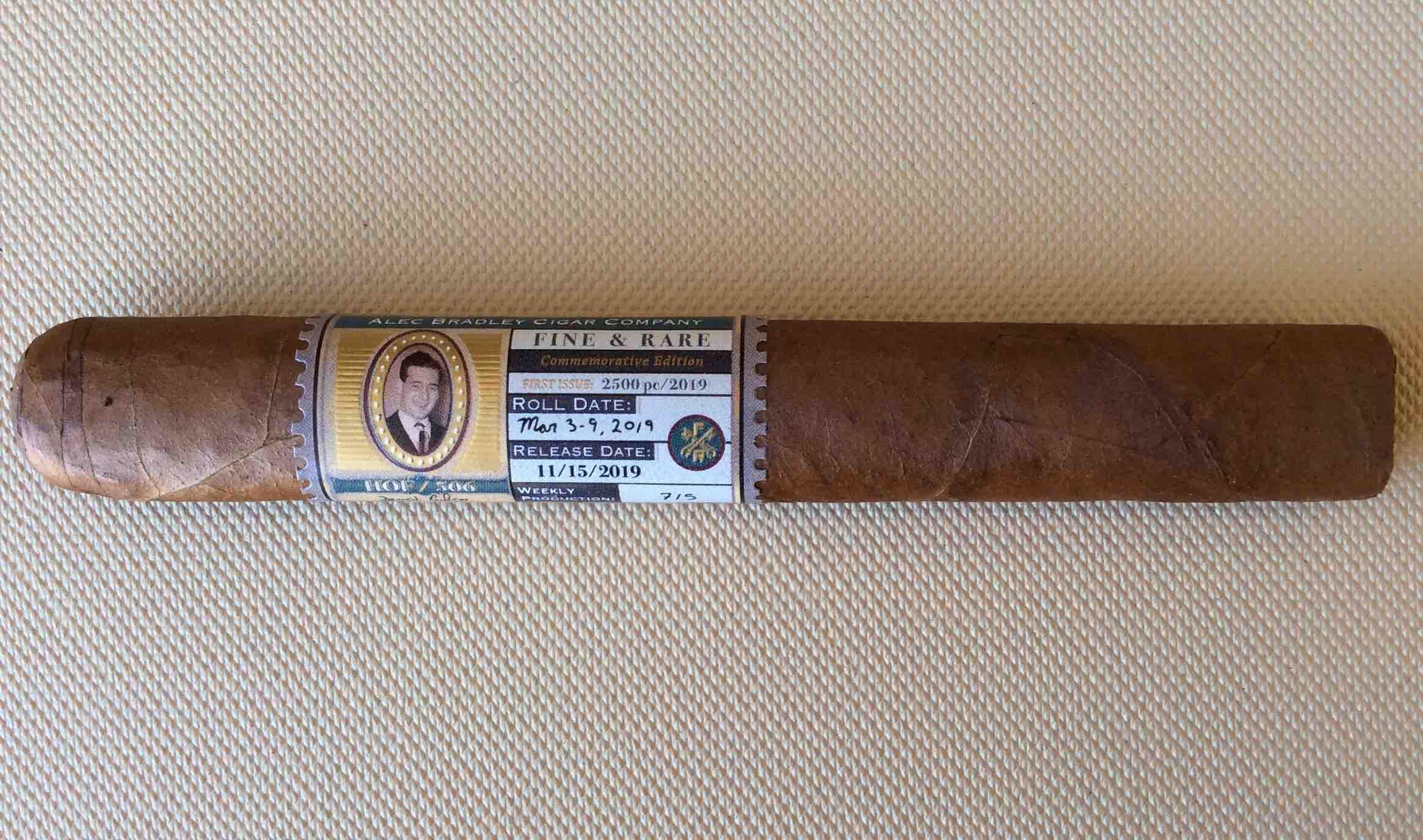 Cigar Review: Alec Bradley Fine & Rare HOF / 506