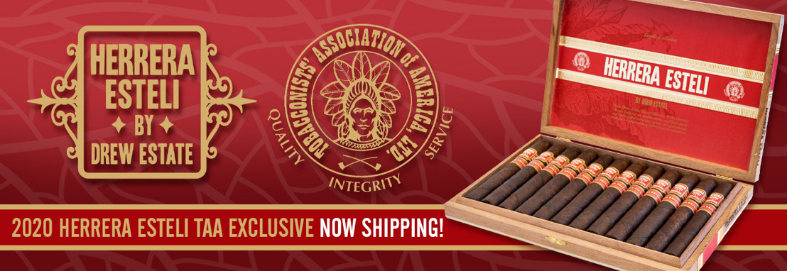 Cigar News: Herrera Esteli TAA Exclusive Upgrades Packaging for 2020