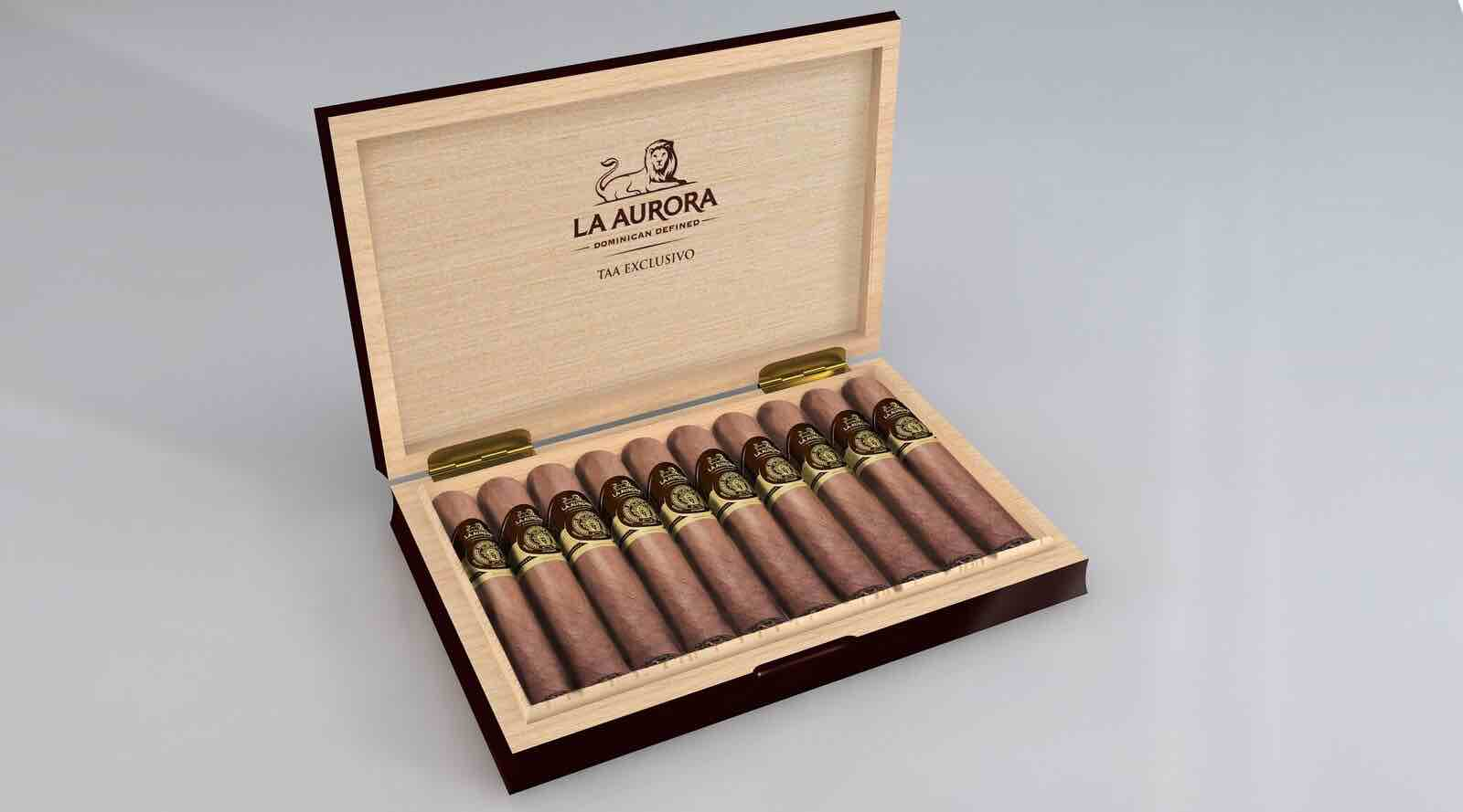 Cigar News: La Aurora TAA Exclusivo Scheduled to Head to Member Retailers