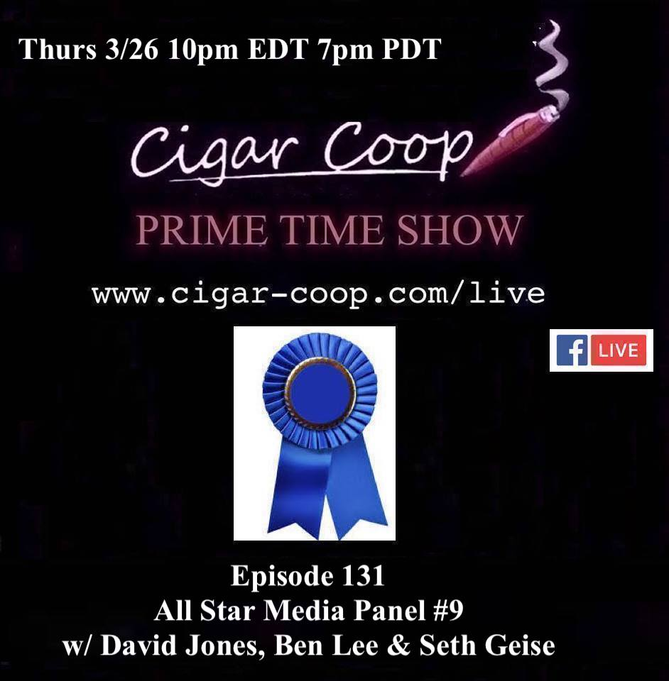 Announcement: Prime Time Episode 131 – All-Star Media Panel #9