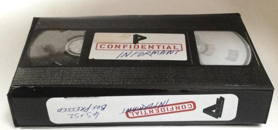Protocol Confidential Informant by Cubariqueño Cigar Company Packaging