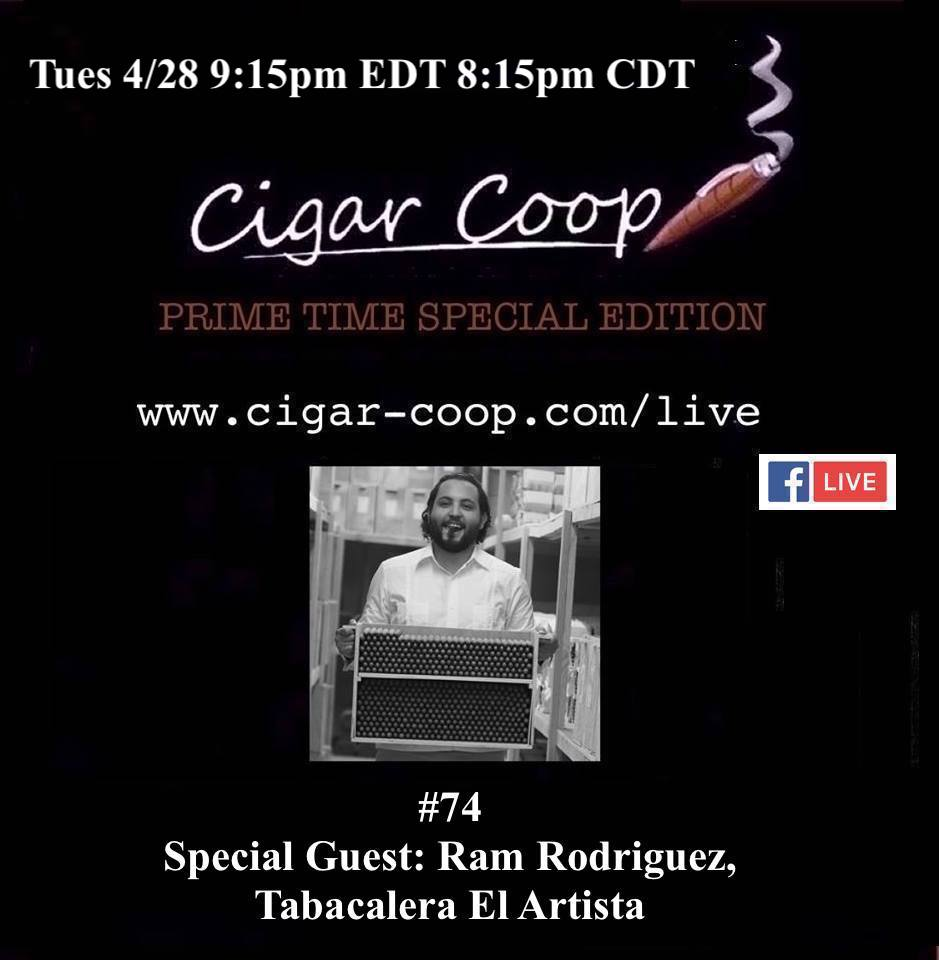 Announcement: Prime Time Special Edition 74 – Ram Rodriguez, El Artista