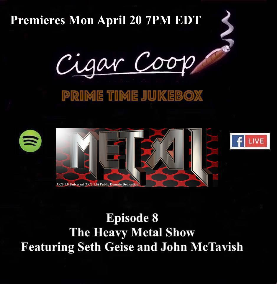 Announcement: Prime Time Jukebox Episode 8 – The Heavy Metal Show