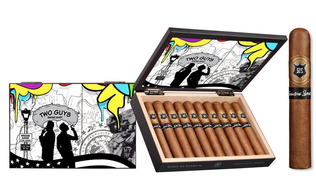 Cigar News: Zino Platinum Exclusive Two Guys Smoke Shop Edition to Make Debut