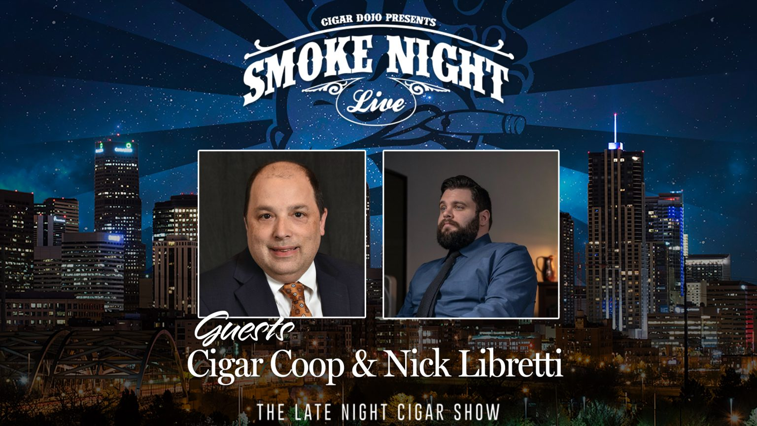The Blog: Will Cooper Guests on Cigar Dojo's Smoke Night Live